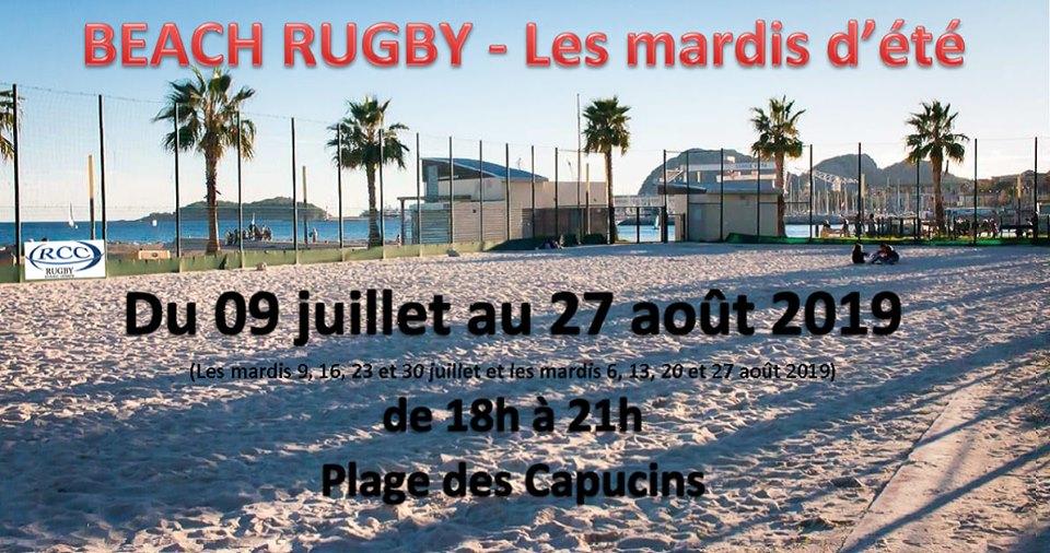 Les mardis de l'été : Beach Rugby